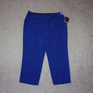 04e1adbddc Investments · Investments Petites Dress Pants Park Ave Fit Blue